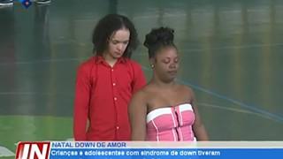 Crianças e adolescentes com Síndrome de Down tiveram hoje um dia especial, em qu