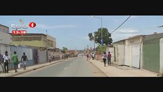 Estrada em Luanda - Reaberta Rua 28 de Agosto