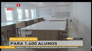 Novas escolas no Lubango - Para 1.400 Alunos