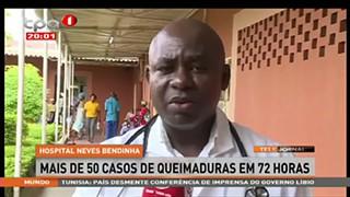 Hospital Neves Bendinha com mais de 50 casos de queimadura
