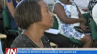 Delegada do Ministério da Educação no Maio garante que as aulas arrancam sem sob