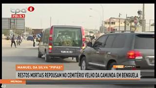 """Manuel da Silva """"Pipas"""" - Restos mortais repousam no cemite?rio velho da Camunda"""