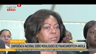 Filda 2019 - Confera?ncia nacional sobre Modalidades de Financiamento em Angola