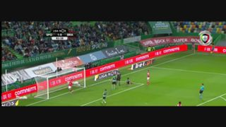 SC Braga, Jogada, Fransérgio, 83m