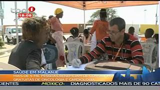 Sau?de em Malange - 5 Mil pessoas foram benefeciados