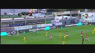 SC Braga, Jogada, Paulinho, 33m