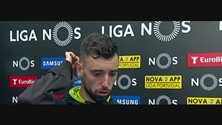Liga (34ª): Flash interview Bruno Fernandes