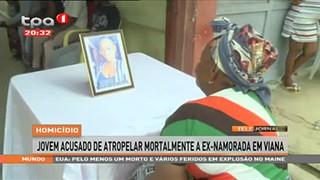 Homicídio - Jovem acusado de atropelar mortalmente a ex-namorada em Viana