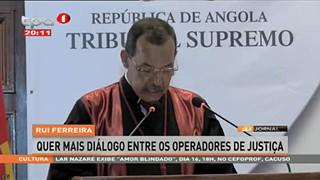 Rui Ferreira defende maior independe?ncia dos tribunais de 1ª Insta?ncia