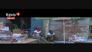 Venda ambulante em Mbanza Kongo, mais de 500 bancadas do mercado Municipal Bela
