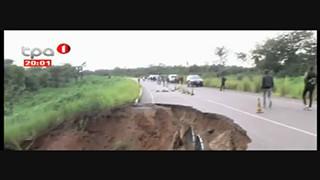 EN 225 - Chuva ameac?a cortar circulac?a?o entre Dundo e Luanda