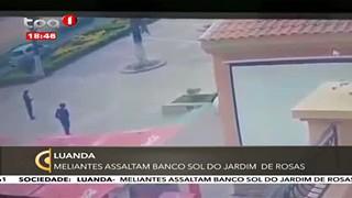 Meliantes Assaltam Banco Sol do Jardim de Rosas
