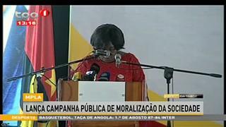 MPLA lanc?a campanha pública de moralização da sociedade