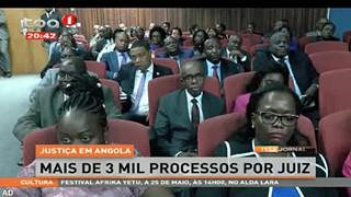 Justic?a em Angola - Mais de 3 mil processos por juiz