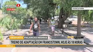 Palancas Negras- Treino de adaptac?a?o em Francistown