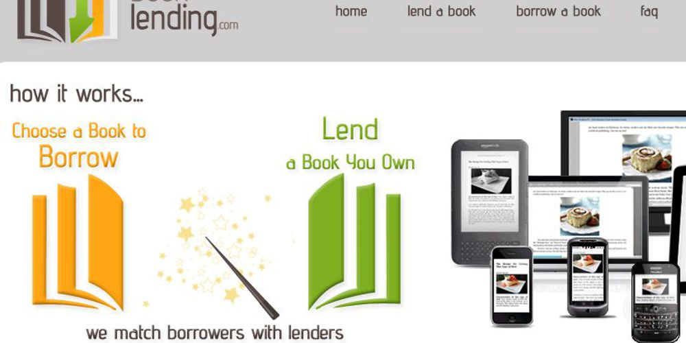 tek booklending Amazon