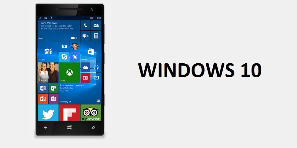 tek windows 10 mobile