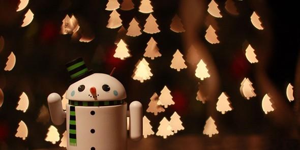 tek android natal