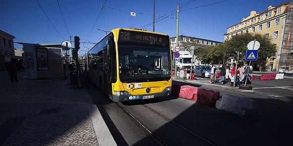 carris autocarros transportes p
