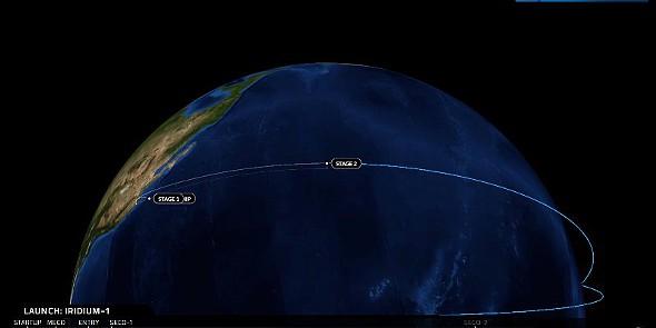SpaceX Iridium1