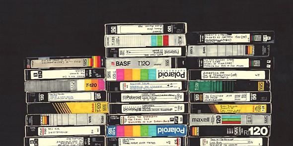 tek cassetes VHS