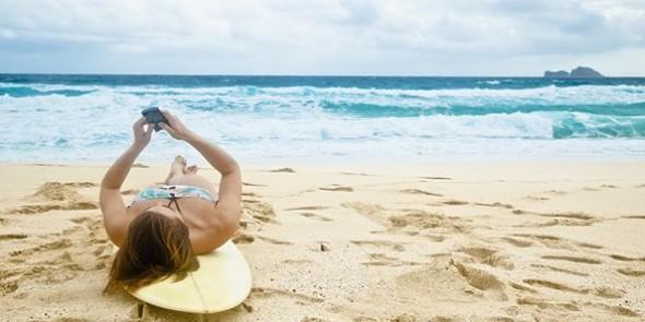 tek praia telemóvel