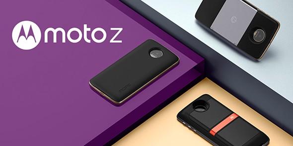 Nova família de smartphones Moto Z