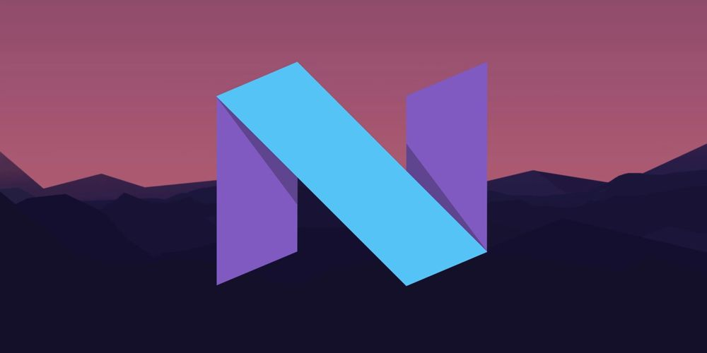 Logo Android N