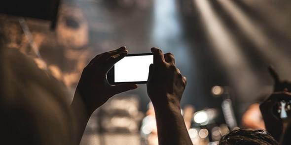 Smartphone, concerto
