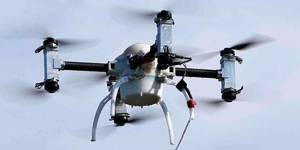 tek drones policia