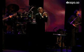 Julio Iglesias encantou a gala