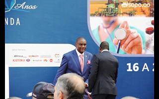 A chegada do governador de Luanda Bento Bento