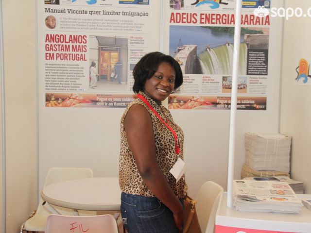 Stand do jornal SOL