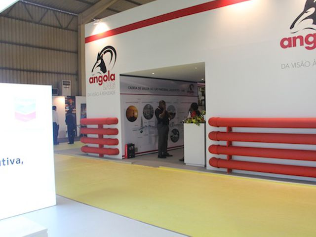 Stand Angola LNG