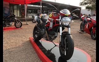 A Ducati marcou presença