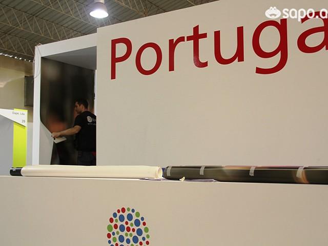 No Pavilhão de Portugal tudo toma cor