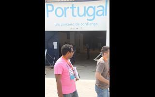 Montagem Stands Pavilhão Portugal