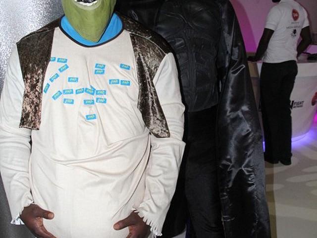 Shrek quis posar para a câmara