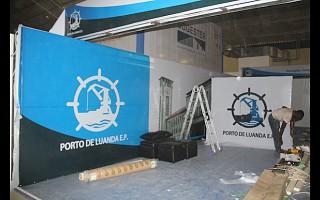 Montagem Stand Porto de Luanda