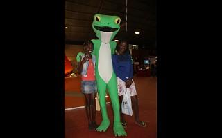 A mascote SAPO fez a festa com miúdos e graúdos