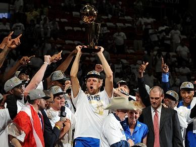 Basquetebol NBA: Dallas campeões