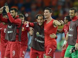 Portugal sobe na lista de favoritos ao título