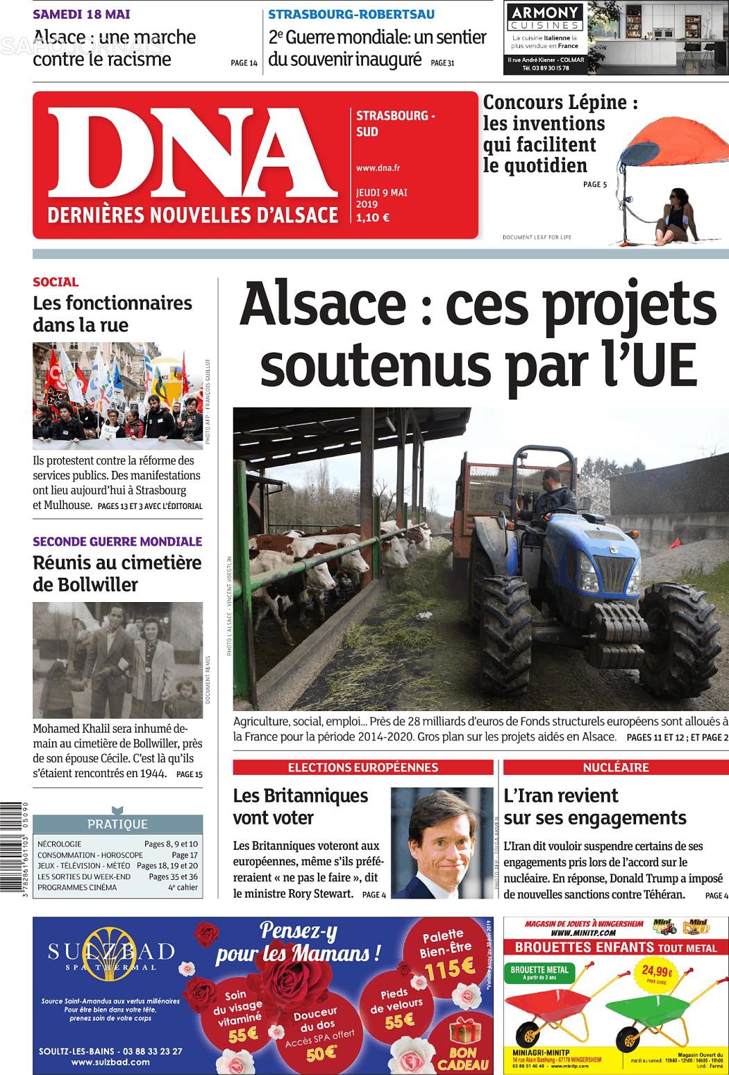 Dna 9 Mai 2019 Jornais E Revistas Sapo Noticias