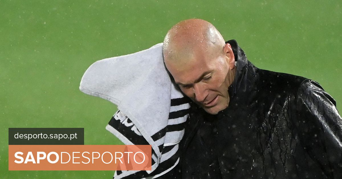 Zidane de saída do Real Madrid