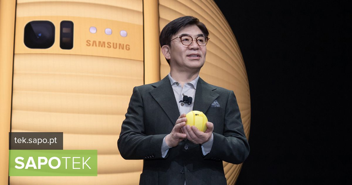CES 2020: Remember the Star Wars BB-8? Samsung has a smaller version ...