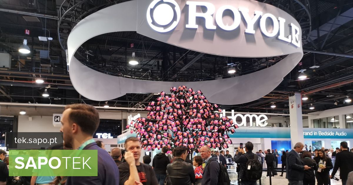 CES 2020: After the first flexible smartphone Royole is betting this year on ...