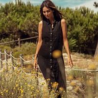 Vestido sem mangas preto (160€)