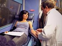Dadores com fome impedidos de dar sangue por terem hemoglobinas baixas