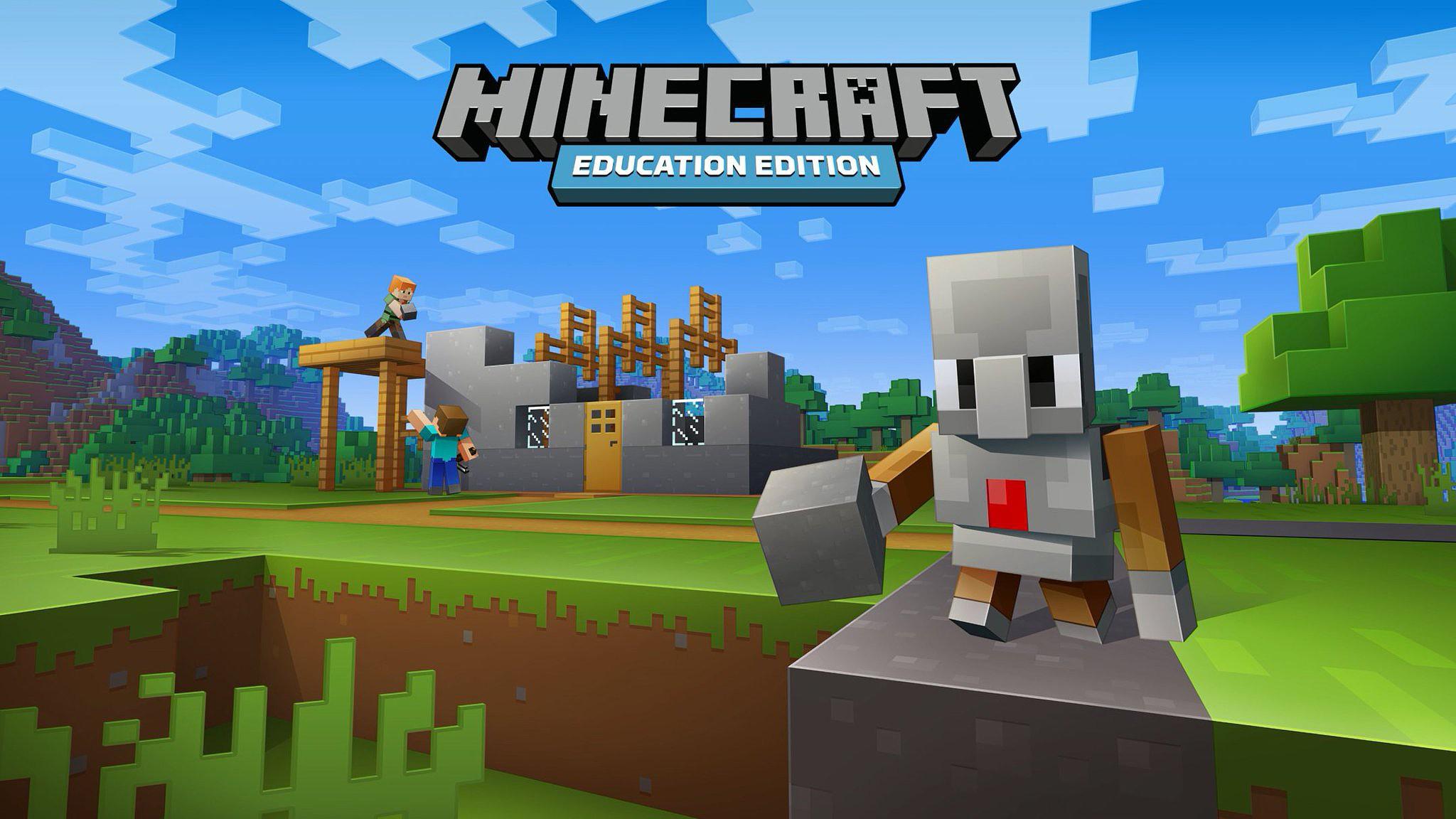 Escola virtual do Minecraft Education Edition abre as portas às