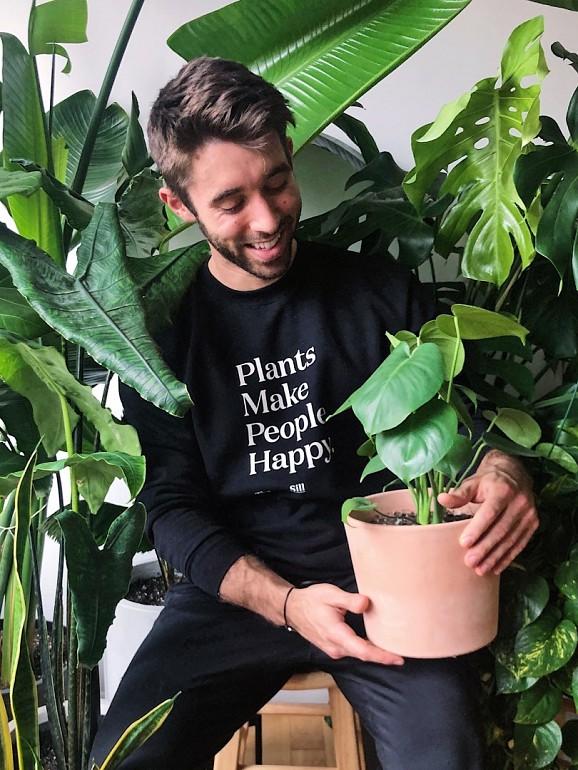 Nick Cutsumpas intitula-se como 'o papá das plantas'